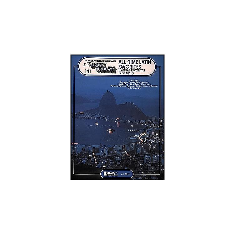 Hal LeonardAll Time Latin Favorites (Latinas Favoritas De Siempre) E-Z Play 141