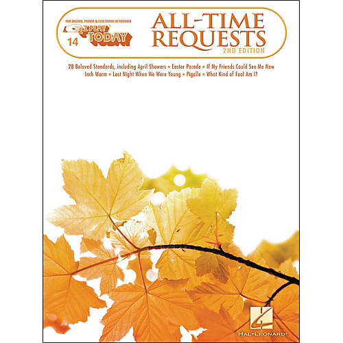 Hal Leonard All Time Requests E-Z Play 14