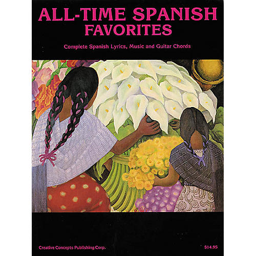 Creative Concepts All-Time Spanish Favorites (Songbook)-thumbnail