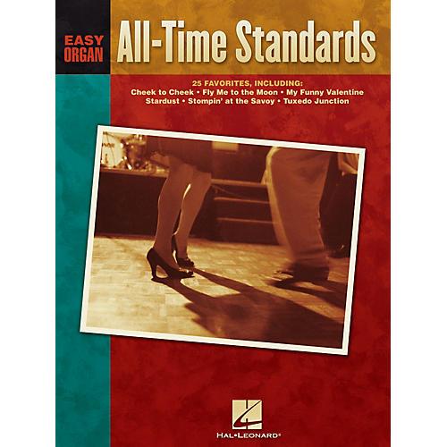 Hal Leonard All-Time Standards Easy Organ Adventure Series