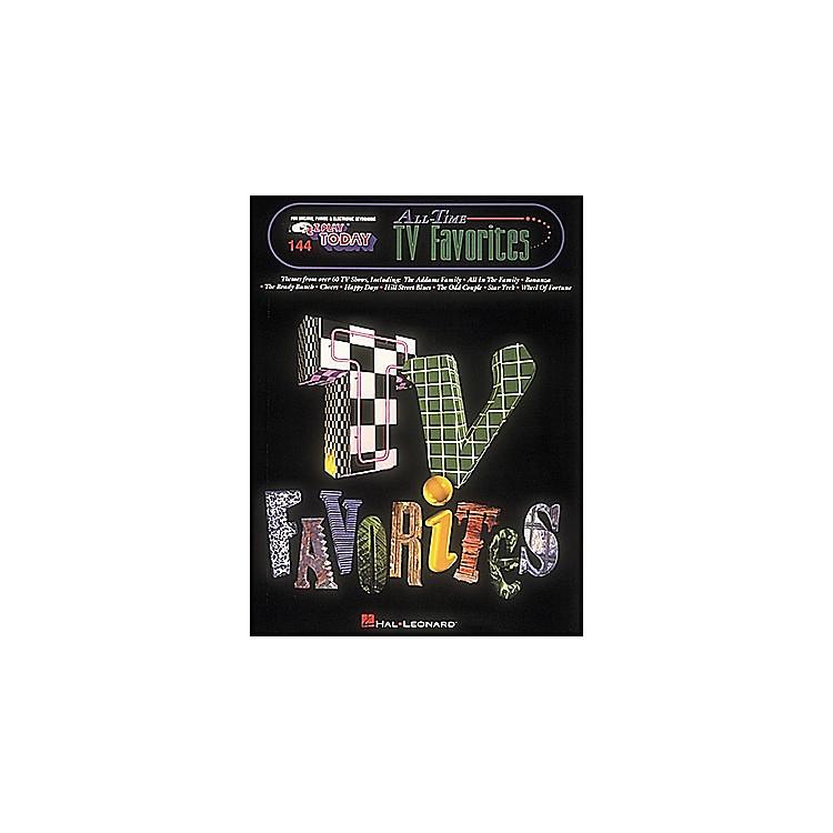 Hal LeonardAll Time TV Favorites E-Z Play 144