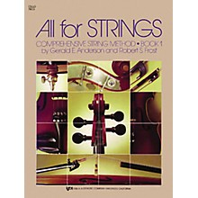 KJOS All for Strings 1 Cello Book