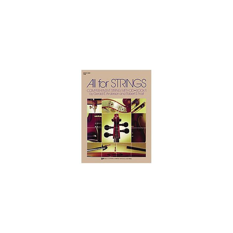 KJOSAll for Strings 1 String Bass Book