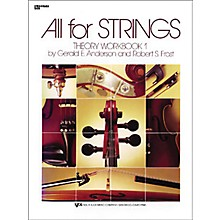 KJOS All for Strings 1 Theory Workbook String Bass