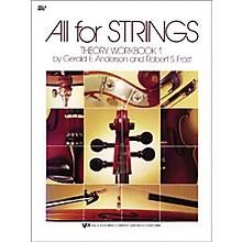 KJOS All for Strings 1 Theory Workbook Viola
