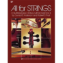 KJOS All for Strings 3 Violin Book
