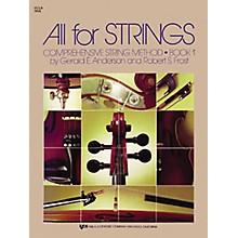 KJOS All for Strings Book 1 Viola