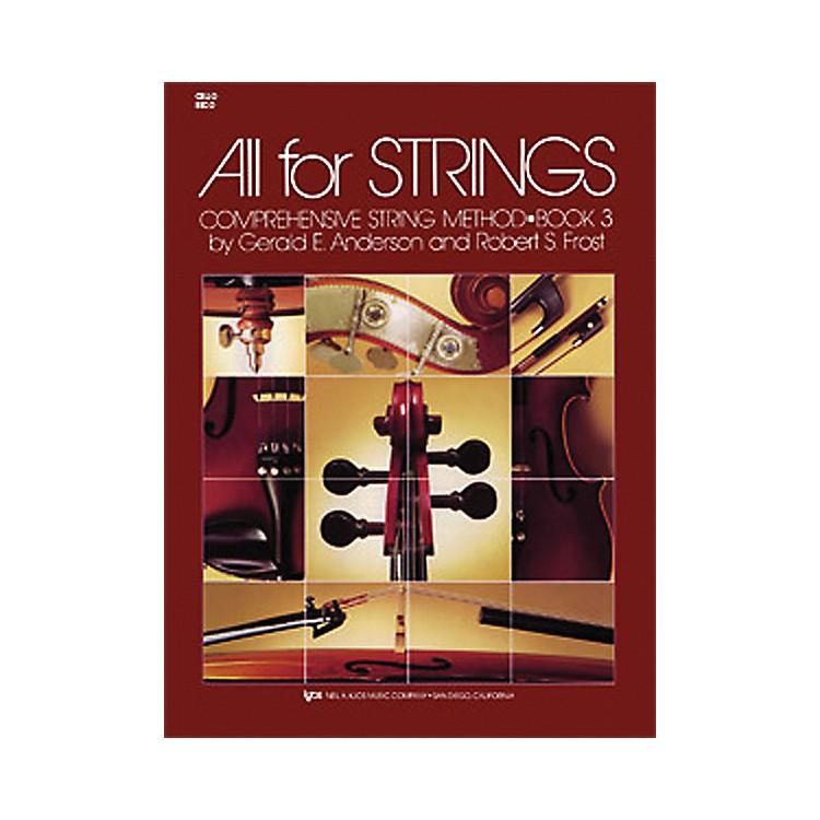 KJOSAll for Strings Cello Book 3