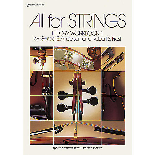 KJOS All for Strings Theory Workbook 1-thumbnail