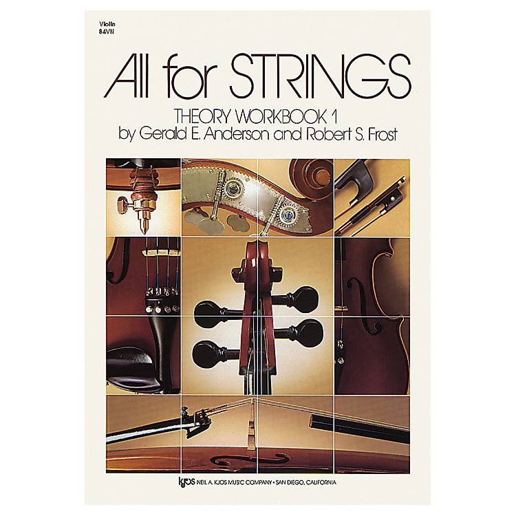 KJOS All for Strings Theory Workbook 1