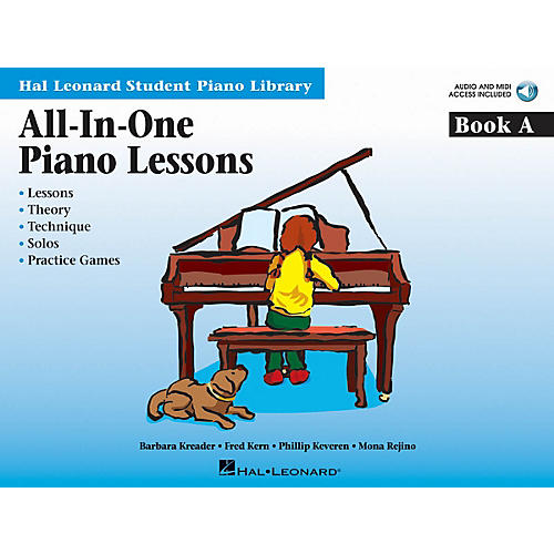 Hal Leonard All-in-One Piano Lessons Book A Educational Piano ¯ International Edition Series Softcover Audio Online-thumbnail