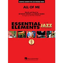 Hal Leonard All of Me Jazz Band Level 1-2 Arranged by Michael Sweeney