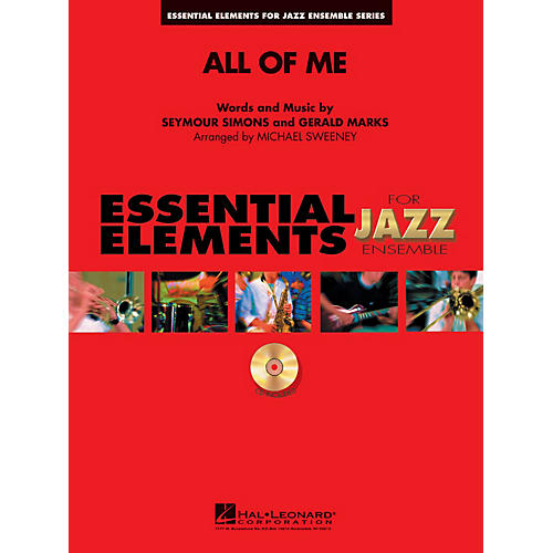 Hal Leonard All of Me Jazz Band Level 1-2 Arranged by Michael Sweeney-thumbnail