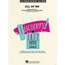 Hal Leonard All of Me Jazz Band Level 1.5 Arranged by Paul Murtha