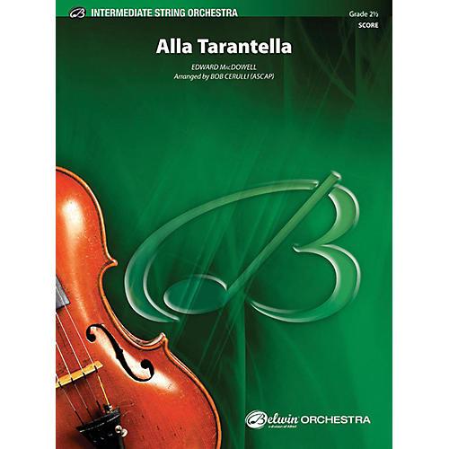 Alfred Alla Tarantella String Orchestra Grade 2.5