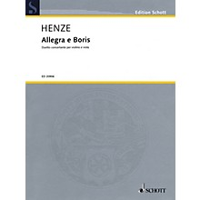 Schott Music Allegra e Boris Schott Series Composed by Hans Werner Henze