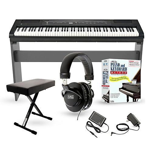 williams allegro 2 plus 88 key digital piano packages musician 39 s friend. Black Bedroom Furniture Sets. Home Design Ideas