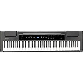 williams allegro 2 plus digital piano satin black musician 39 s friend. Black Bedroom Furniture Sets. Home Design Ideas