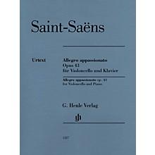 G. Henle Verlag Allegro Appassionato Op. 43 (for Cello and Piano) Henle Music Folios Series