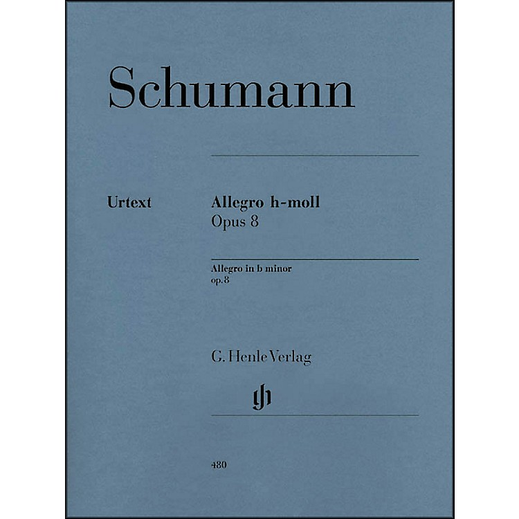 G. Henle VerlagAllegro In B Minor Op. 8 By Schumann