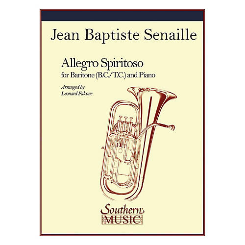 Southern Allegro Spiritoso (Trombone) Southern Music Series Arranged by Leonard Falcone-thumbnail