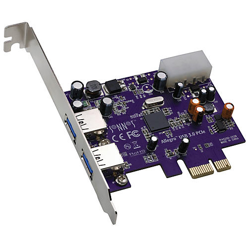 Sonnet Allegro USB 3.0 PCIe - 2 Port Expansion Card