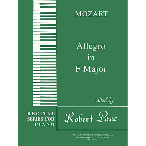 Lee Roberts Allegro in F Major Pace Piano Education Series Composed by Wolfgang Amadeus Mozart-thumbnail