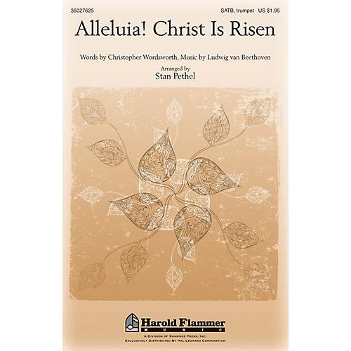 Shawnee Press Alleluia! Christ Is Risen SATB, TRUMPET arranged by Stan Pethel-thumbnail
