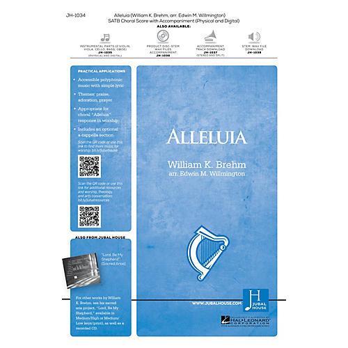 Jubal House Publications Alleluia SATB arranged by Edwin M. Willmington-thumbnail