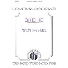 Hinshaw Music Alleluia SATB arranged by Ralph Manuel