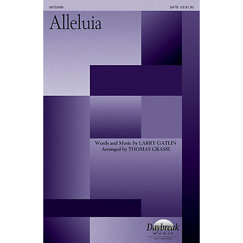 Daybreak Music Alleluia SATB arranged by Thomas Grassi-thumbnail