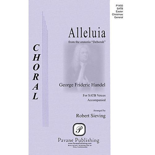 Pavane Alleluia (from the Oratorio Deborah) SAATB composed by George Frideric Handel-thumbnail