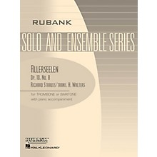 Rubank Publications Allerseelen (Op. 10, No. 8) Rubank Solo/Ensemble Sheet Series