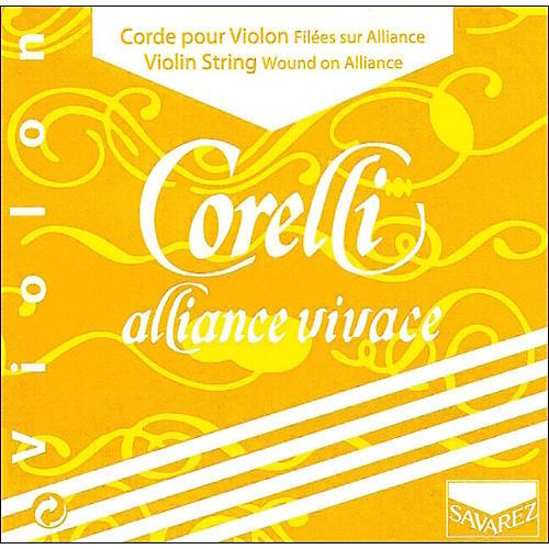 Corelli Alliance Vivace Violin D String 4/4 Size Heavy Loop End