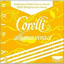Corelli Alliance Vivace Violin String Set 4/4 Size Heavy Loop End