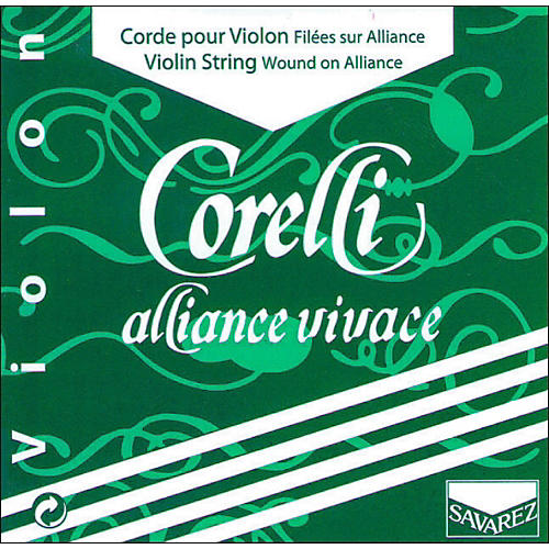 Corelli Alliance Vivace Violin String Set 4/4 Size Light Ball End