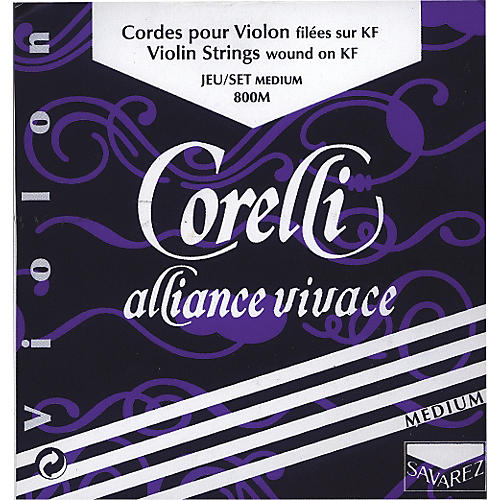 Corelli Alliance-Vivace Violin Strings E String Loop 4/4 Size