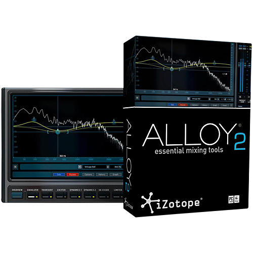 iZotope Alloy 2 Essential Mixing Tools