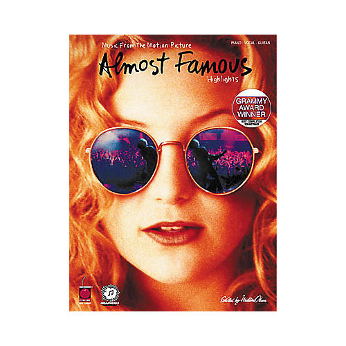 Cherry Lane Almost Famous - Movie Highlights Guitar Tab Songbook