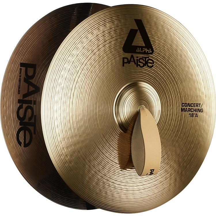 PaisteAlpha Band Cymbals18 inch