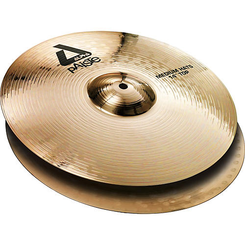 Paiste Alpha Brilliant Medium Hi-Hat Pair 14 in.