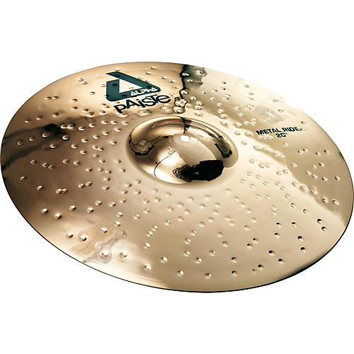 Paiste Alpha Brilliant Metal Ride Cymbal