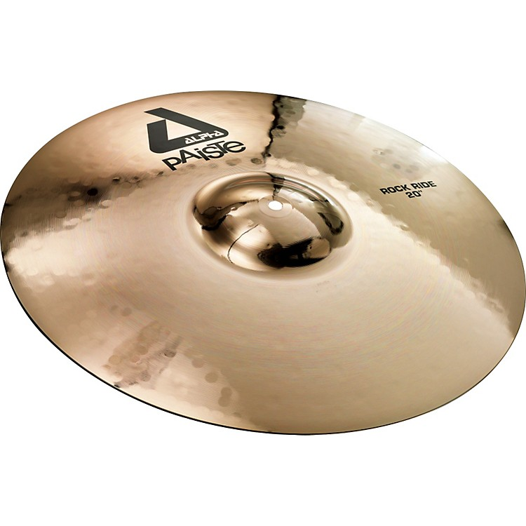 PaisteAlpha Brilliant Rock Ride Cymbal20 inch