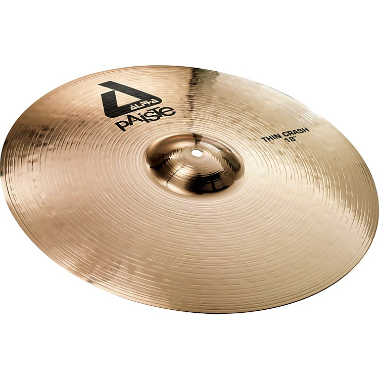 Paiste Alpha Brilliant Thin Crash Cymbal