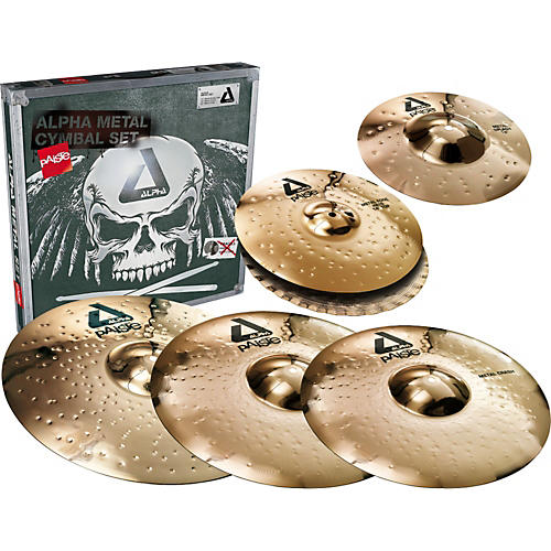 paiste alpha complete metal cymbal pack musician 39 s friend. Black Bedroom Furniture Sets. Home Design Ideas