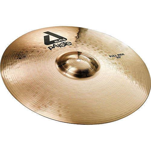 Paiste Alpha Full Ride, Brilliant 20 in.