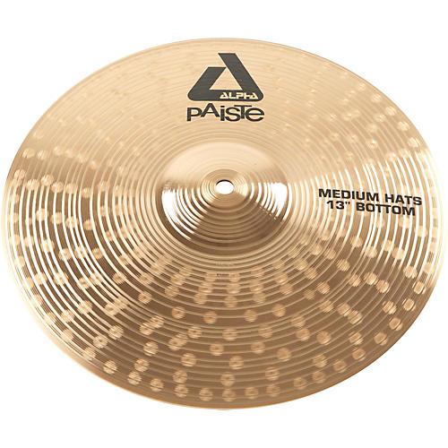 Paiste Alpha Medium-Heavy Hi-Hat Cymbal Bottom