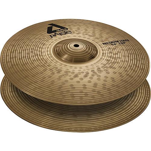 Paiste Alpha Medium Hi-Hat Cymbal Pair-thumbnail