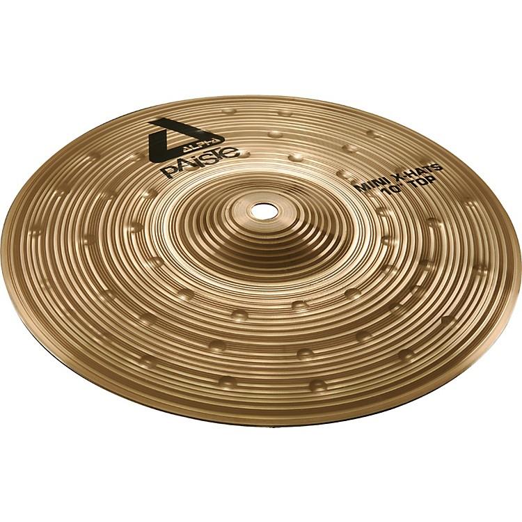 PaisteAlpha Mini X-Hat Cymbal Top