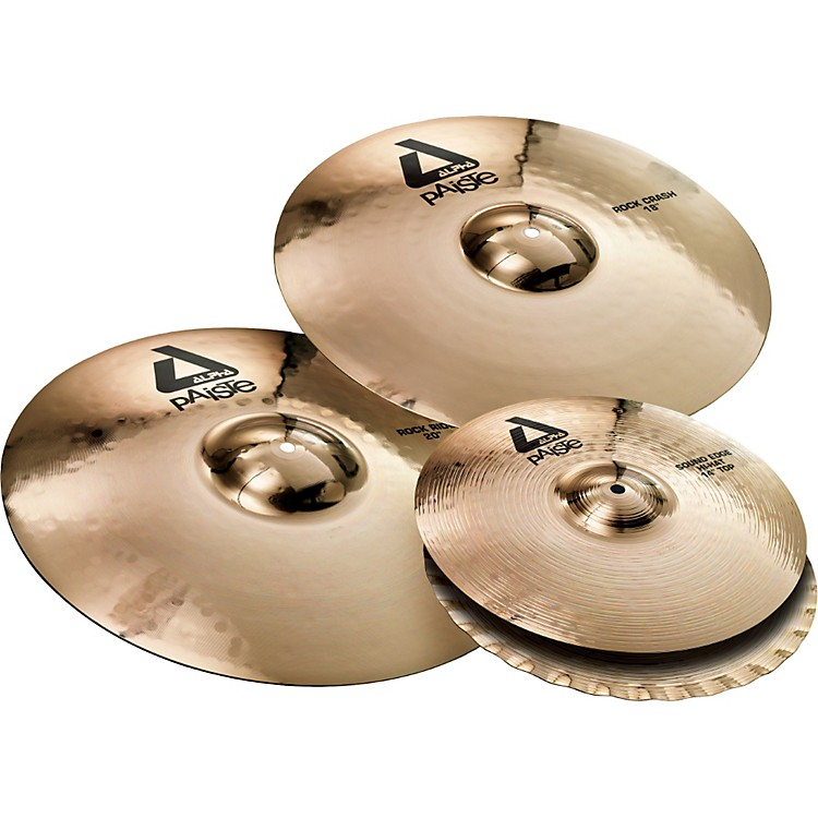Paiste Alpha Rock Cymbal Pack